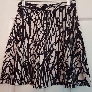 Forever 21 Abstract Pattern Skirt